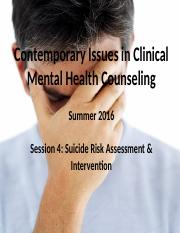 S5.2 Suicide Prevention & Intervention Summary