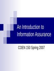 An Introduction to Information Assurance.ppt