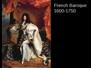 French Baroque - French Academy, Painting