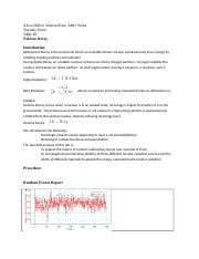Lab Report Nuclear Decay
