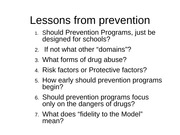 Prevention Strategies s12