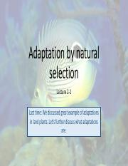 Lecture 2-1_Adaptation by natural selection_for students.pdf