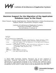 INPROC-2013-56 - Decision Support for the Migration of the Application Database Layer to the Cloud.p