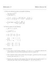 17exercisesetME
