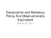 11-03-25-Devaluation and Monetary Policy Are Observationally Equivalent