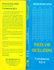 Waves And Oscillations By N Subrahmanyam Brijlal Pdf