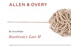 Insolvency_Law_Part_II