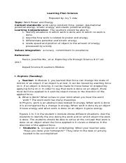 Learning Plan Science 8.docx