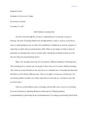 Research paper -Adult Students in higher learning.docx