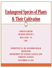 Endangered Species of Plants TP2 PP.pptx