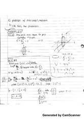 cylinder and quadratic surfaces notes