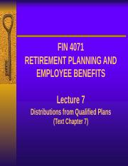 Lecture 7 - Distributions from Qualified Plans (1).pptx