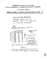 CHEM 281 2011-3 Lecture Notes 10 - WEEK 4