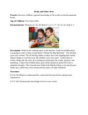 10 Erma Johnson's Language & Literacy In Early Childhood Books and Other Texts Documentation Paper.d