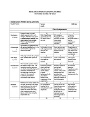 Research Paper Grading Rubric_Fall 2013