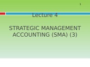Lecture 4_Strategic Management Accounting 3