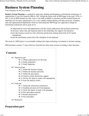 IS351_LECTURE NOTES_BusinessSystemsPlanning