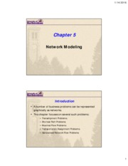Lecture 3a - Logistical Network Modeling(1)