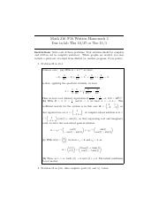 umich web homework math 216