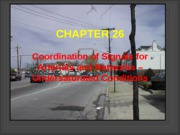 CHAPTER 26 - SIGNAL COORDINATION - UNSATURATED CONDITIONS