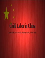 5-Group 5_Child Labor in China