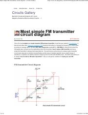 Most simple FM transmitter circuit diagram - Circuits Gallery.pdf
