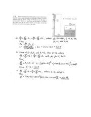 H.W Solution Chapter 3 and 4