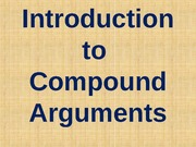 Compound Argument Diagramming - Introduction and Practice