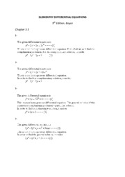 ELEMENTRY DIFFERENTIAL EQUATIONS 3.5