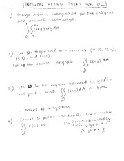 10C-Integrals-Review