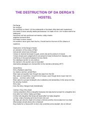 clt2130 da derga's hostel notes .docx