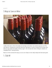 5 Ways to Save on Wine - The Krazy Coupon Lady
