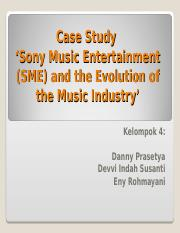 Case Study Sony Music Final