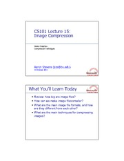 CS101.Lect15.Images.Compression.ppt