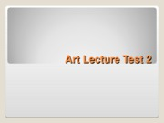 ArtLecture2