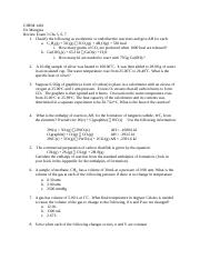 CHEM 1401 exam 3 review and answers.docx