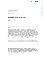 Jomo_growth with equity in East Asia