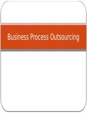 Module 12 Business Process Outsourcing.pptx