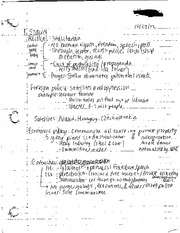 Stalin Political Totalitarian Notes