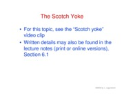19. Scotch yoke