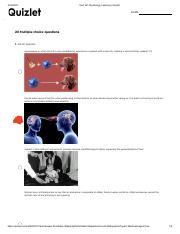 AP Learning Quiz.pdf - Test AP Psychology Learning