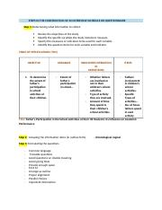 STEPS IN THE CONSTRUCTION OF AN INTERVIEW SCHEDULE OR QUESTIONNAIRE.docx