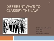 CSUEB B&P PPT 5 Different+Ways+to+Classify+the+Law (1) (10)