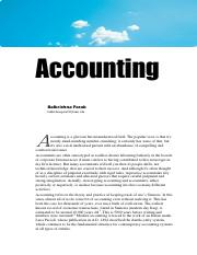 1 Accounting Introduction Notes