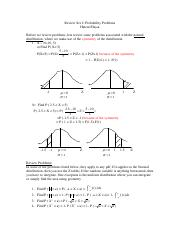 2. Review set 2 Probability Problems