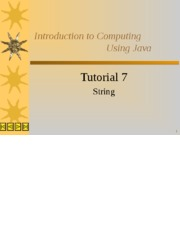 CSCI1130-Tutorial7_String.ppt