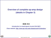completeopampdesign