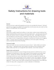 Safety Instructions - drawing tools and materials.pdf