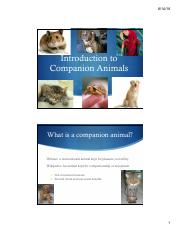 Introduction to Companion Animals 2018 student.pdf
