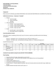 Assignment #1 - Excel Spreasheets.docx